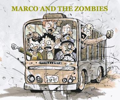 Marco and the Zombies Blurb Unique Children's Book