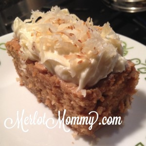 coconut vodka cream cheese cake