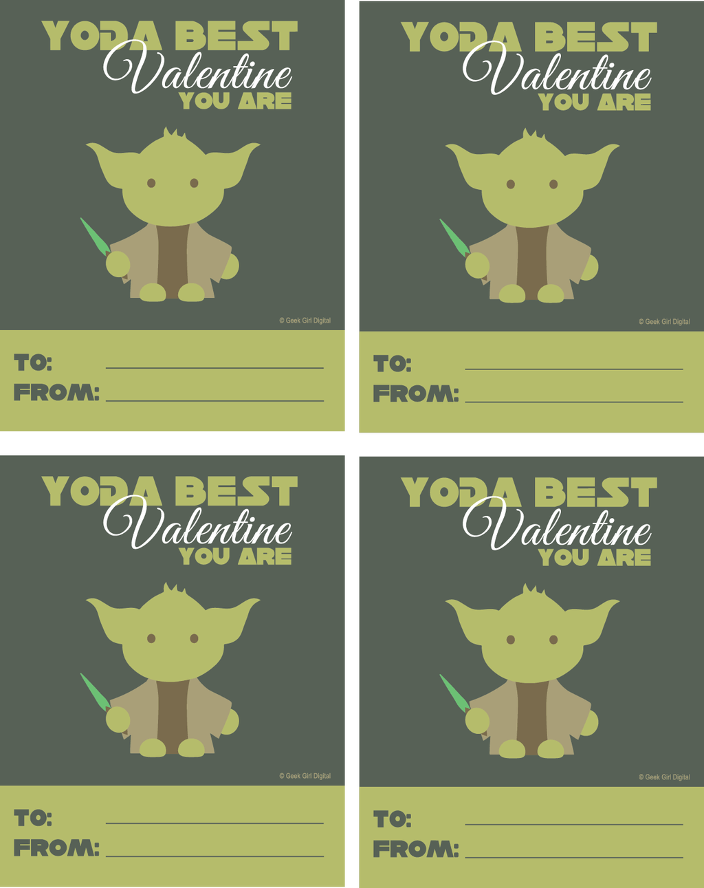 photo about Yoda Printable identify No cost Yoda Valentine Printable Whisky + Solar