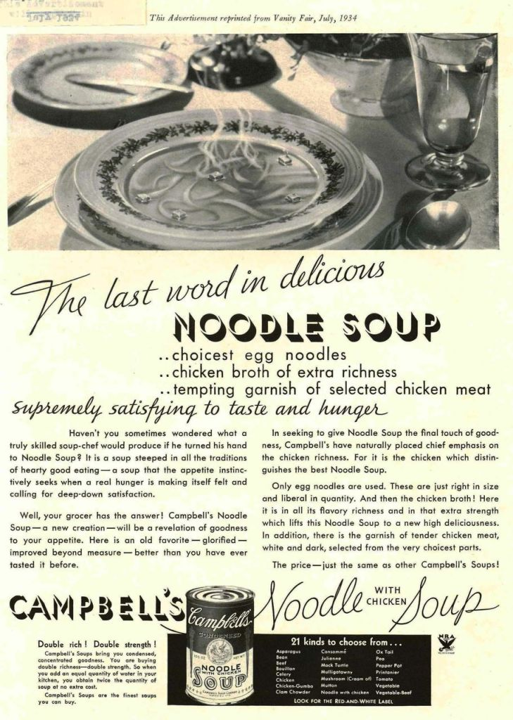 Campbell's® Condensed Chicken Noodle Soup