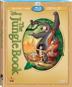 disney the jungle book diamond edition