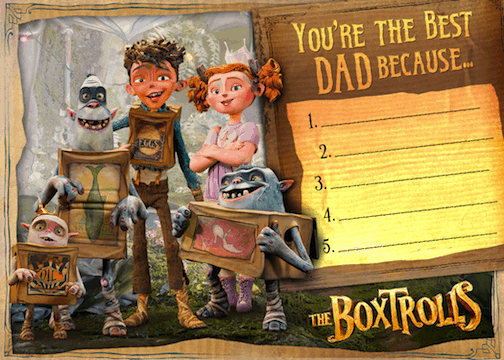 boxtrolls father's day