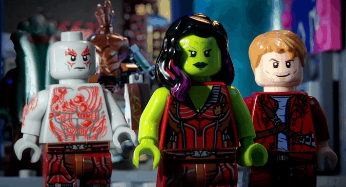 Guardians of the Galaxy LEGO-inspired video