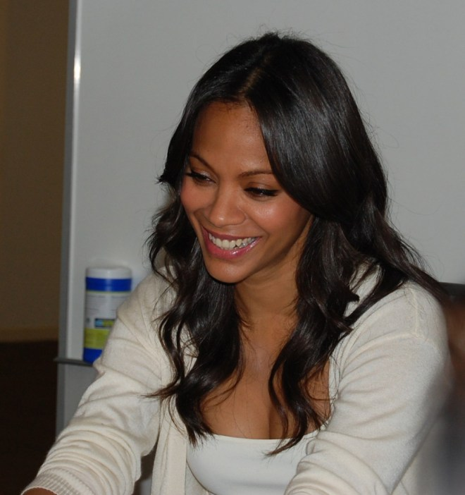 Zoe Saldana Guardians of the Galaxy Gamora