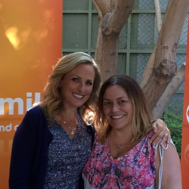 Marlee Matlin (Switched at Birth) and me