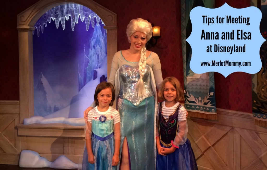 Tips for Meeting Anna and Elsa at Disneyland