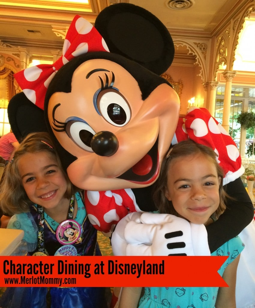 Disneyland Tips Character Dining