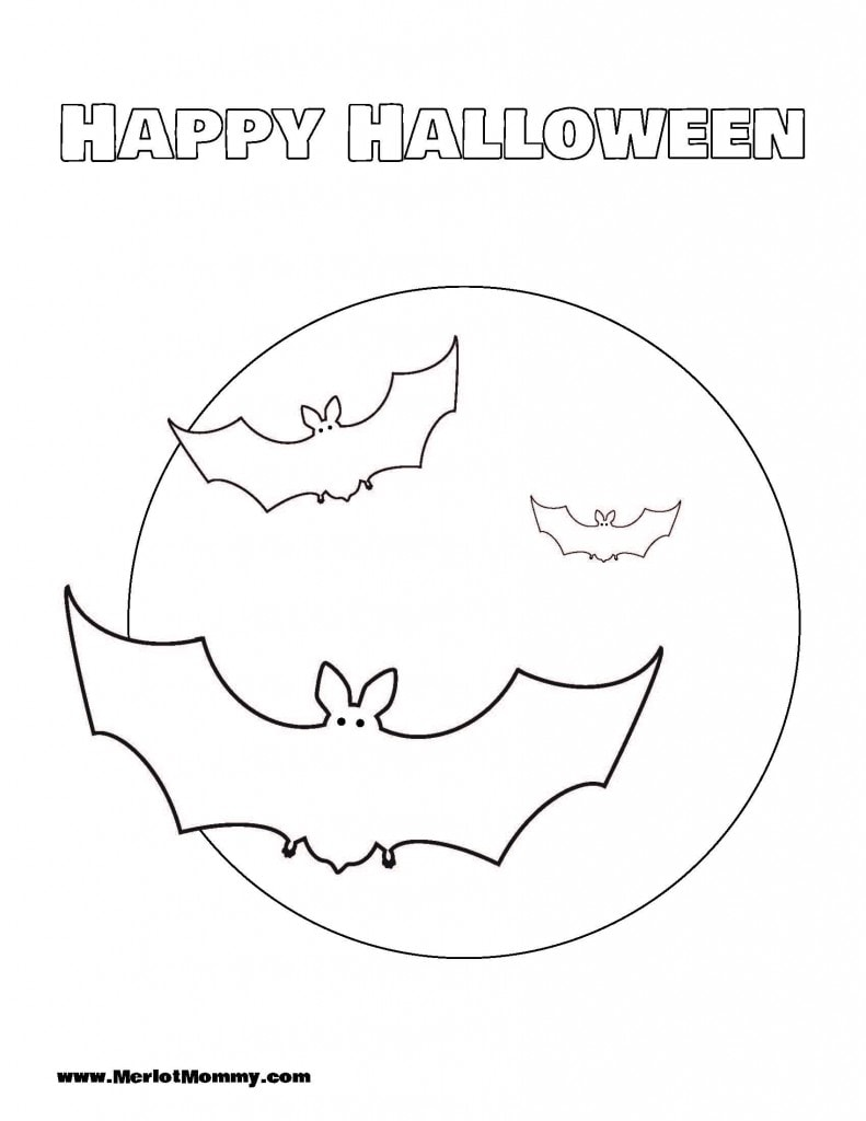 Halloween_Coloring_Page_Bats