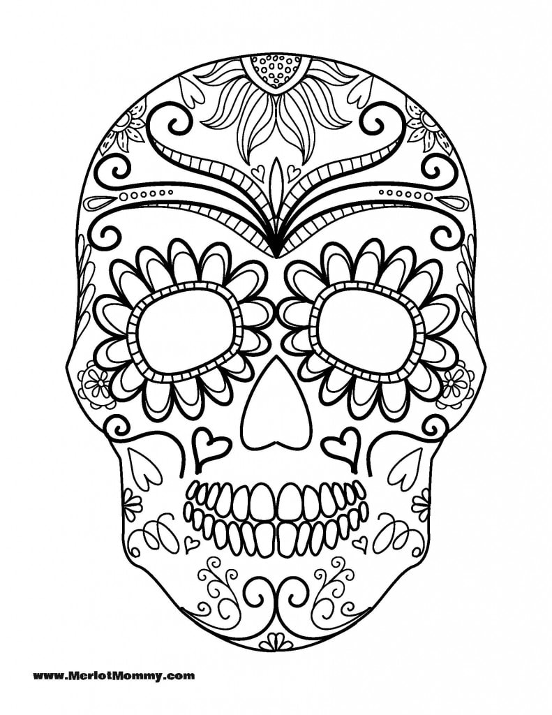 Free Halloween Coloring Pages | Merlot Mommy