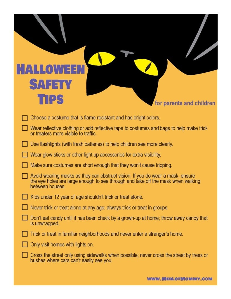 halloween safety tips for parents and children - Halloween Tips For Parents