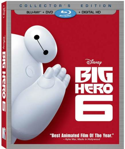 Big Hero 6 on DMA and Blu-ray 2/24
