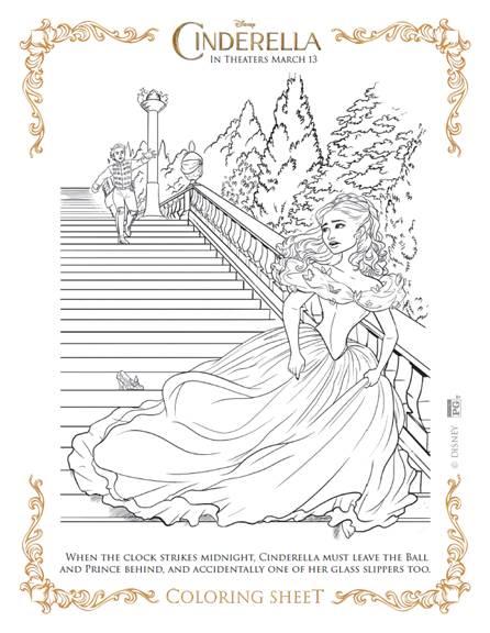 Cinderella Palace Steps