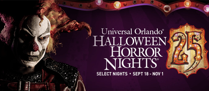 "Join Me at Universal Orlando Resort ""Facing Their Fears Together"" and Halloween Horror Nights 25"