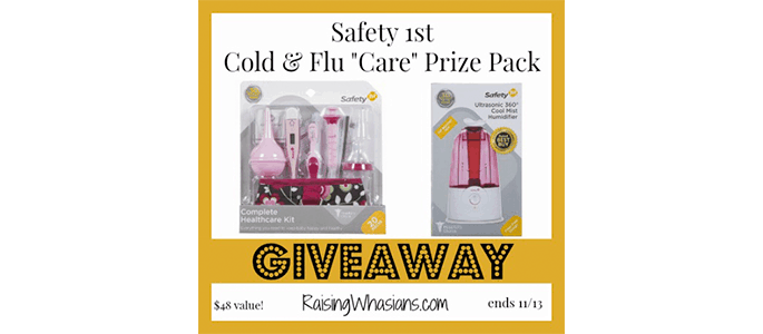"""Enter the Safety 1st """"Care"""" Prize Pack Giveaway ends 11/13"""