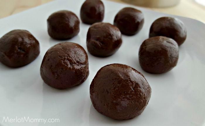Valentine Brownie Truffles Recipe