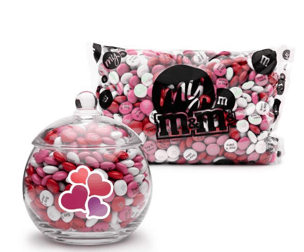 Valentine's Day Gift Guide with MY M&M'S