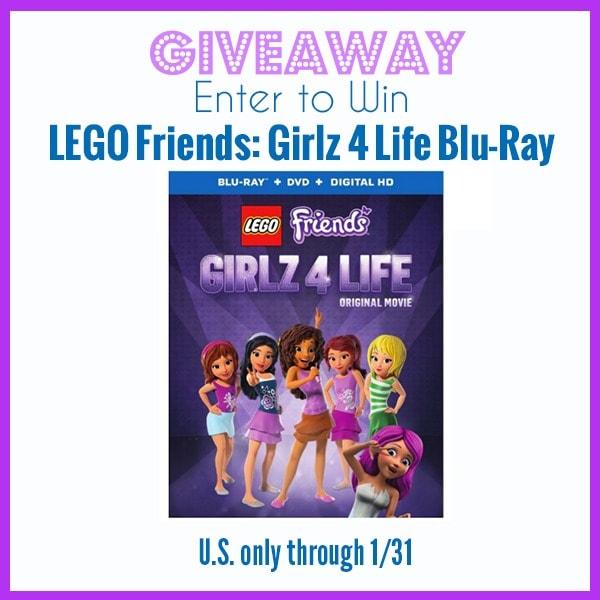 Giveaway Lego Friends Girlz 4 Life Blu Ray Ends 1 31 Whisky Sunshine Formerly Merlot Mommy