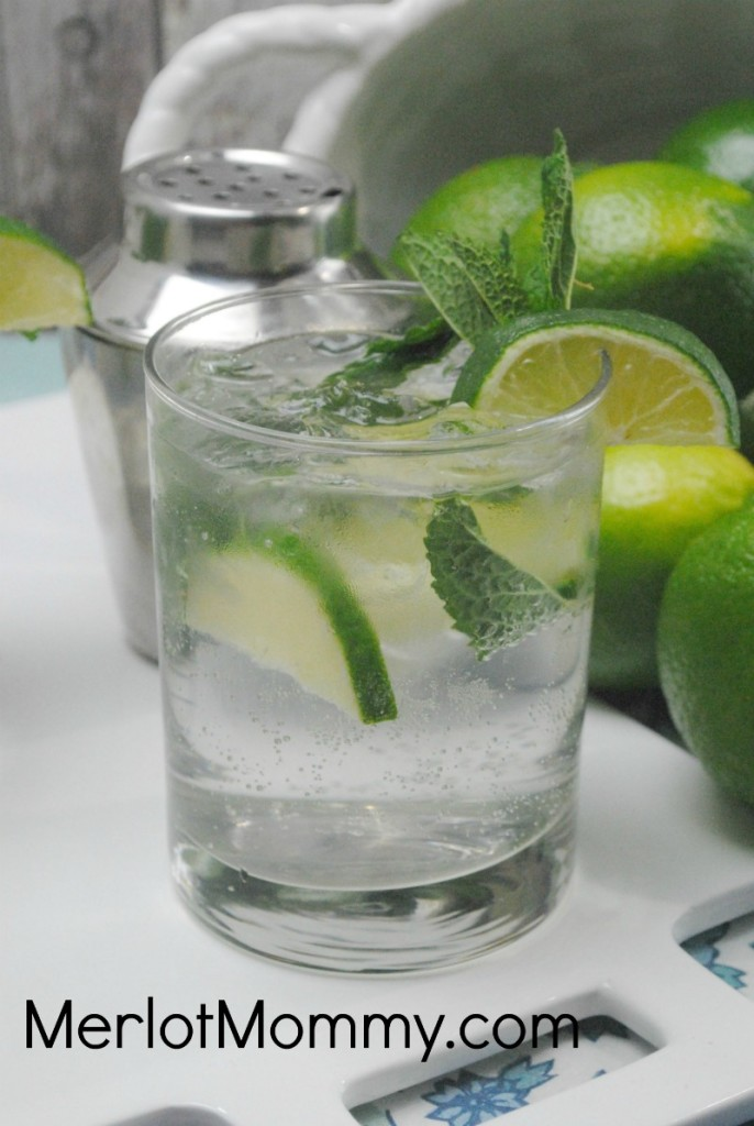 Classic Mojito with Vodka