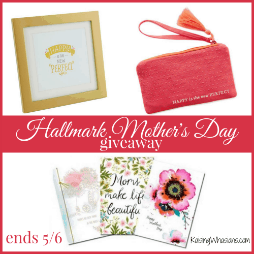 Enter to win a Hallmark Mother's Day Prize Pack