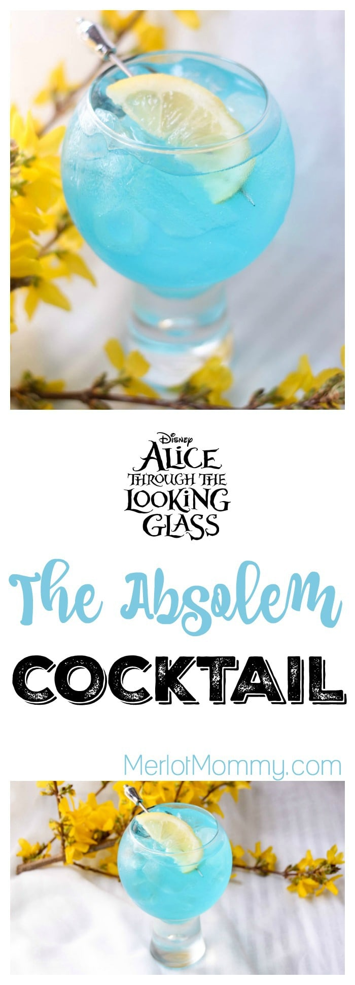 The Absolem Alice Through the Looking Glass-Inspired Cocktail