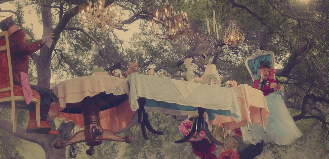 New P!NK Video from Alice Through the Looking Glass