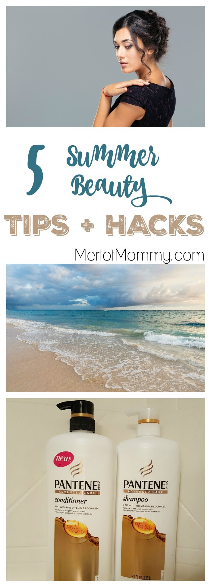5 Summer Beauty Tips + Hacks