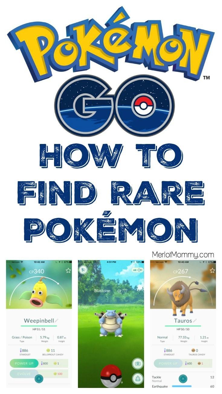 Pokémon GO Tips - How to Find Rare Pokémon