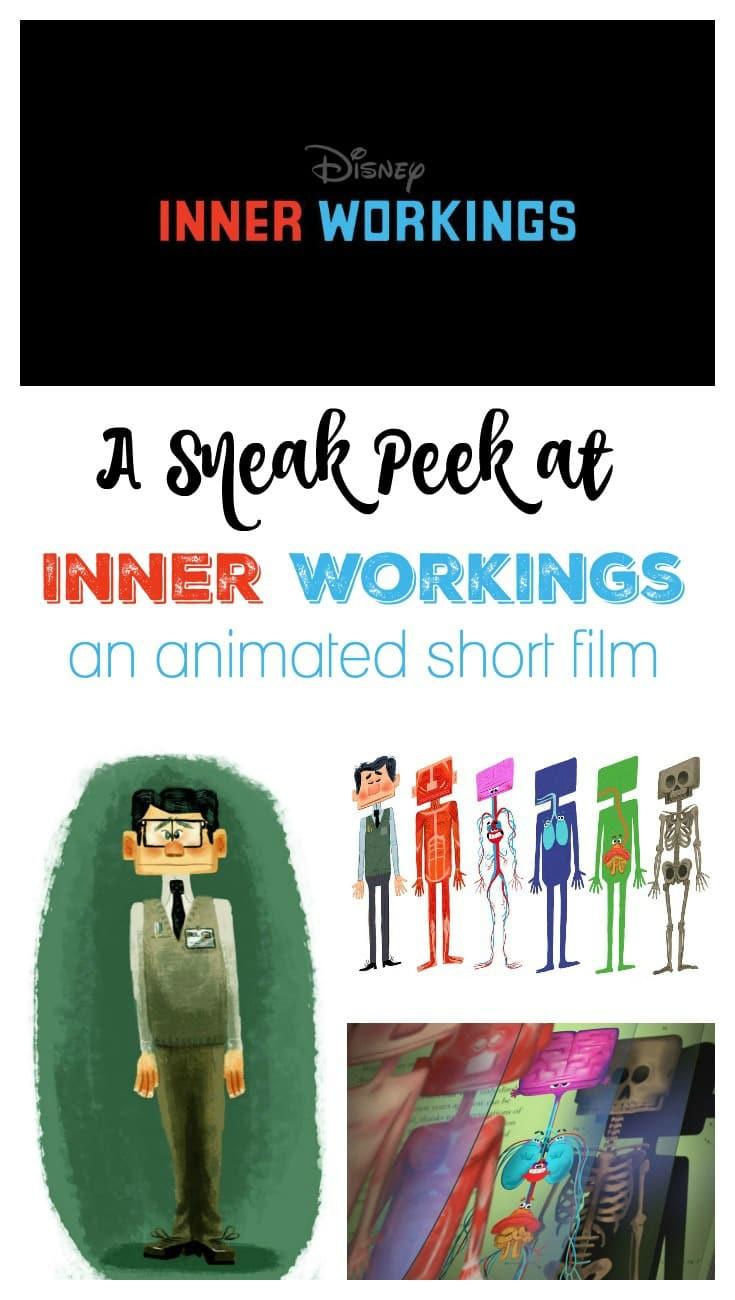 A Sneak Peek at Disney's Inner Workings Short Film