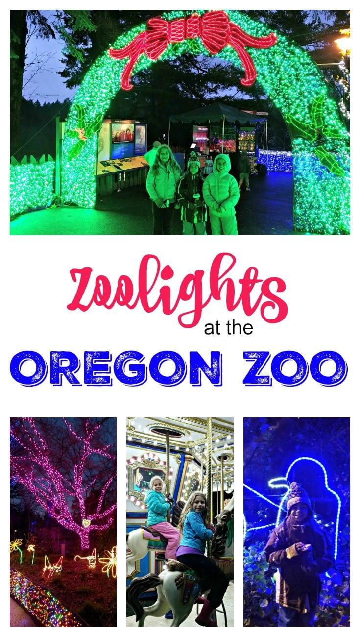 2016 Zoolights at the Oregon Zoo, Portland Oregon
