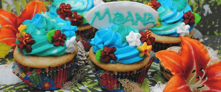 Moana Cupcakes Merlot Mommy