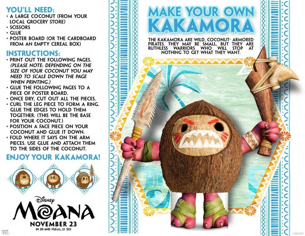 Moana Make Your Own Kakamora