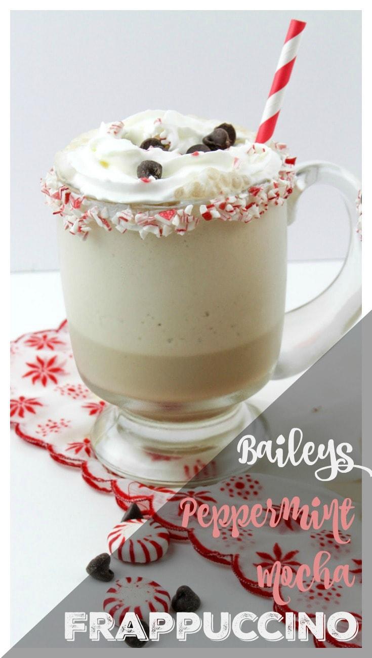 Baileys Peppermint Mocha Frappuccino pin