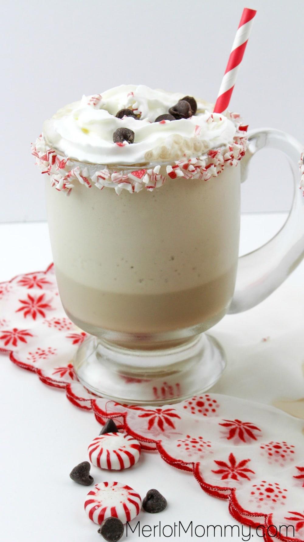 Baileys Peppermint Mocha Frappuccino