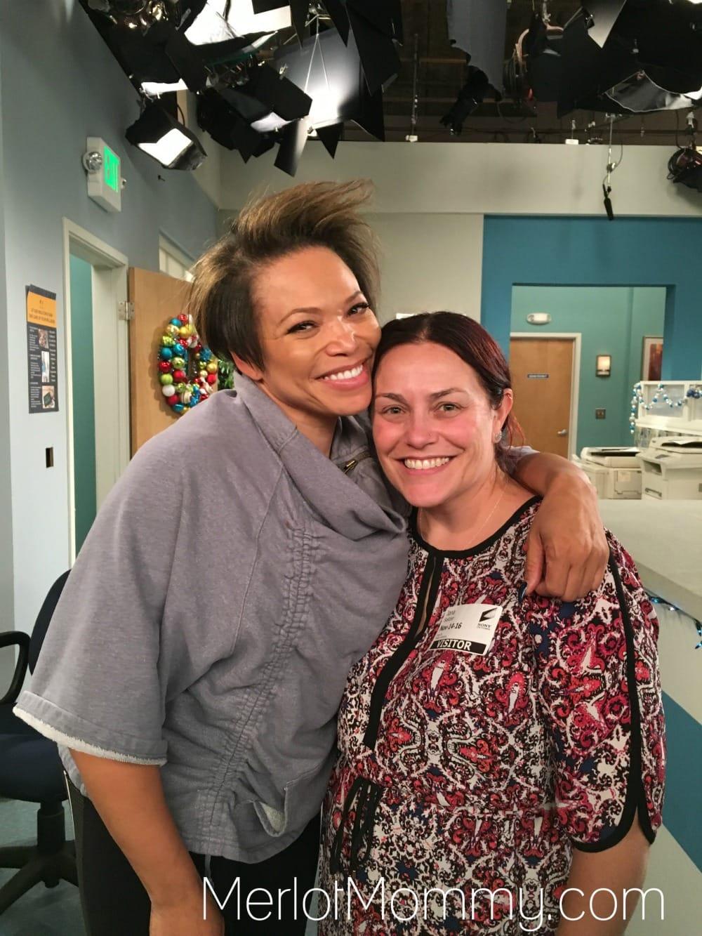 Dr. Ken Set Visit - Trisha Campbell Martin
