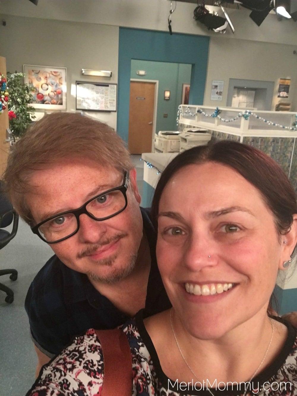 Dr. Ken Set Visit - Dave Foley