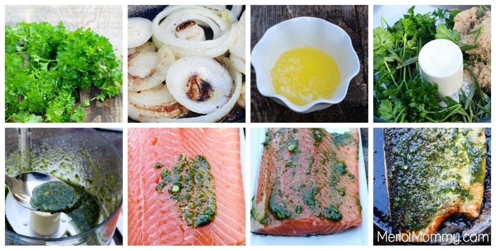Herb and Brown Sugar Salmon
