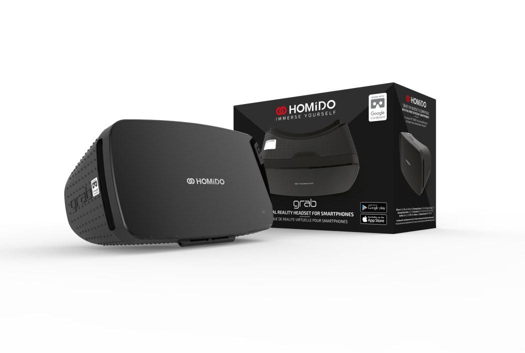 Homido GRAB VR Headset
