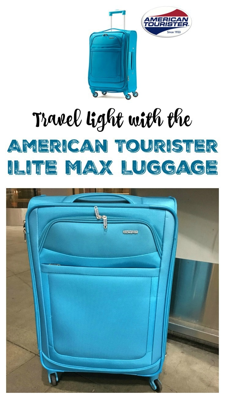 Travel Light with the American Tourister iLite MAX Luggage Pin
