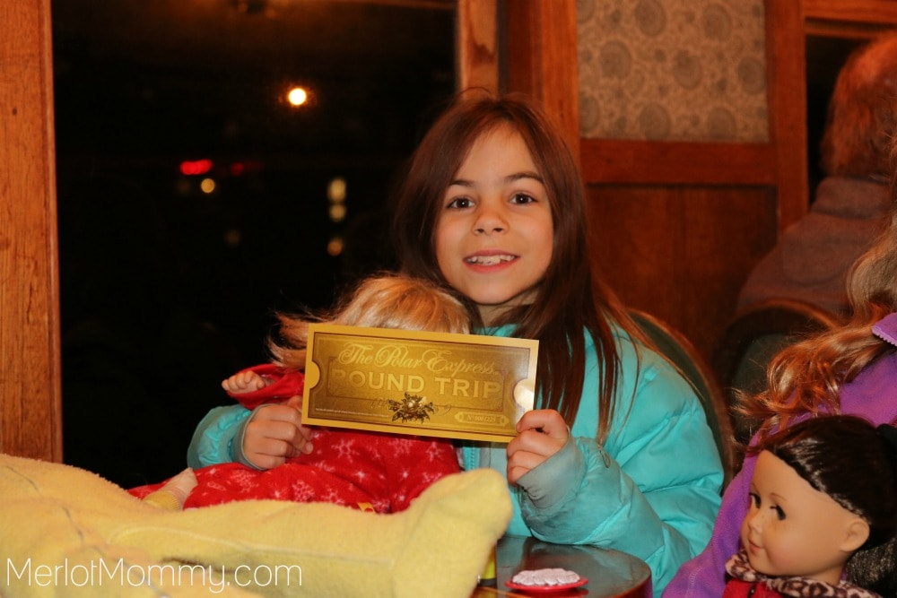 We Rode the Polar Express Train Ride - 2016