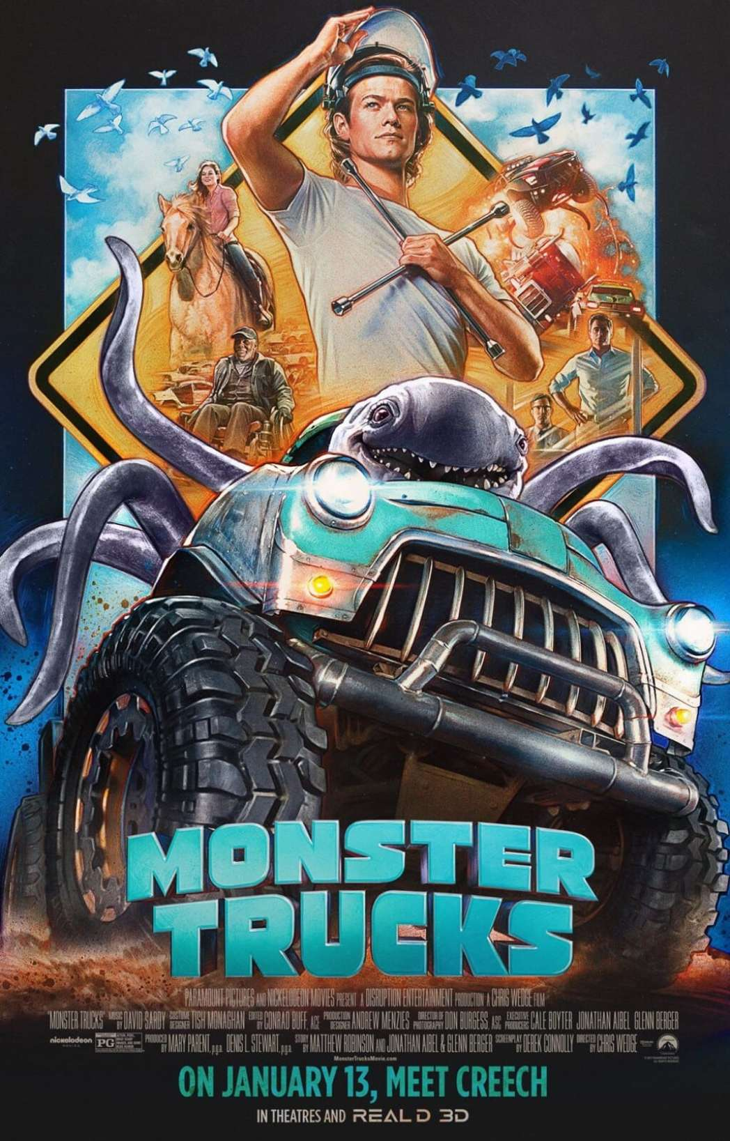 Monster Trucks Movie Prize Pack