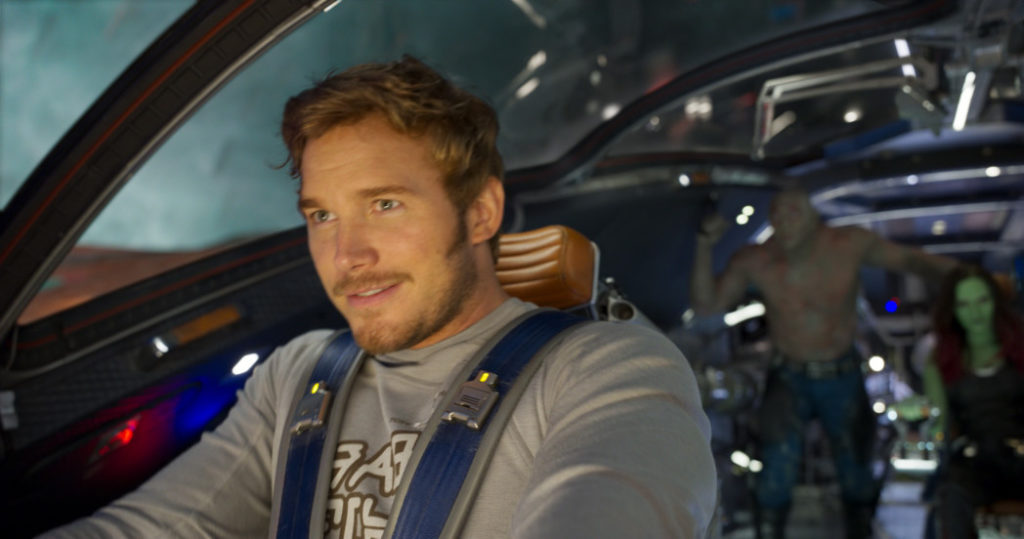 Exclusive Interview with Chris Pratt as Star-Lord / Peter Quill in Guardians of the Galaxy Vol.2