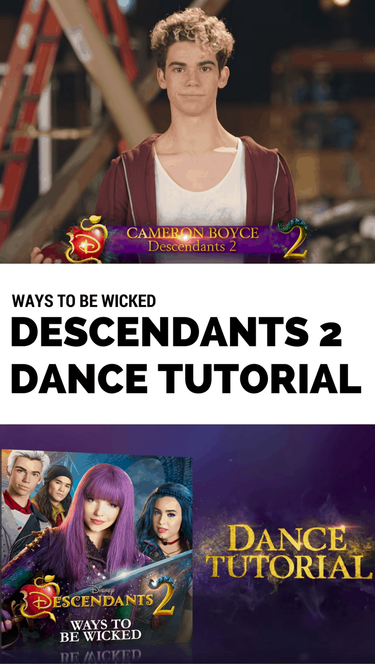 """Descendants 2 """"Ways to Be Wicked"""" Dance Tutorial"""