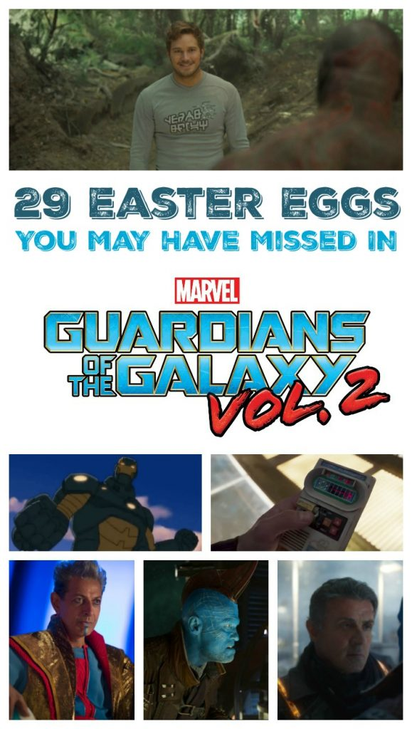 29 Easter Eggs and Cameos You May Have Missed in the Guardians of the Galaxy Vol. 2