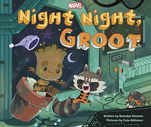 Ultimate Guide to Guardians of the Galaxy Vol. 2 Gifts and Merchandise: Night Night, Groot Book