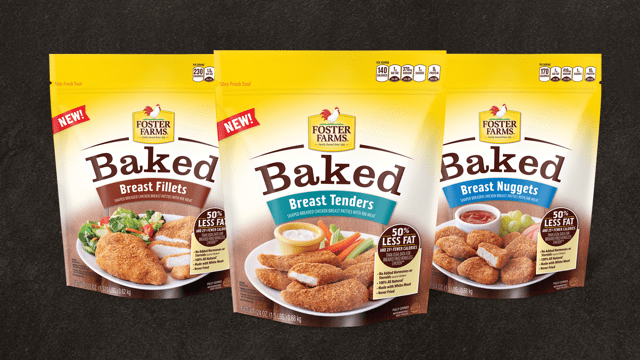Foster Farms NEW Baked Chicken Breast Tenders, Nuggets, and Fillets