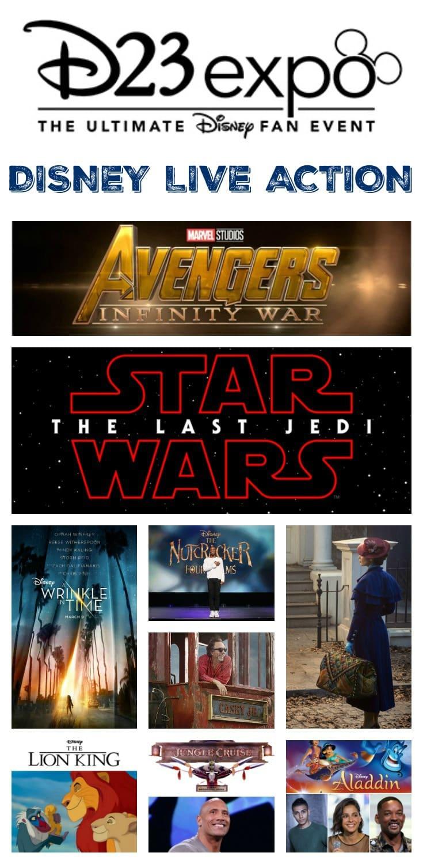 Upcoming Disney, Marvel Studios, and LucasFilm Live-Action Films - D23 Expo Recap
