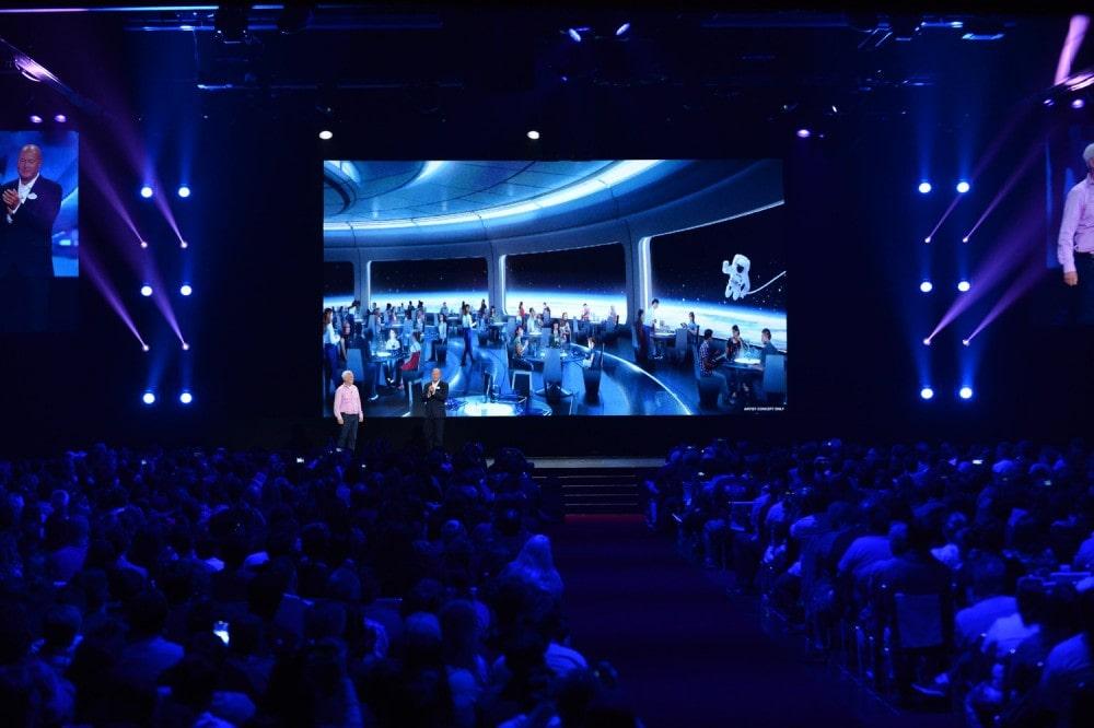The Future of Walt Disney Parks and Resorts - D23 Expo Recap Epcot restaurant