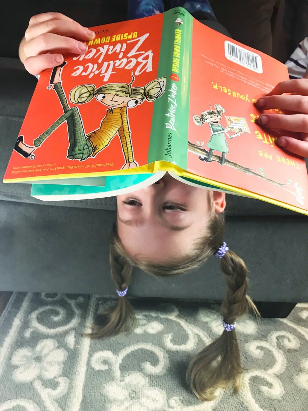 Image result for Beatrice Zinker, upside down thinker