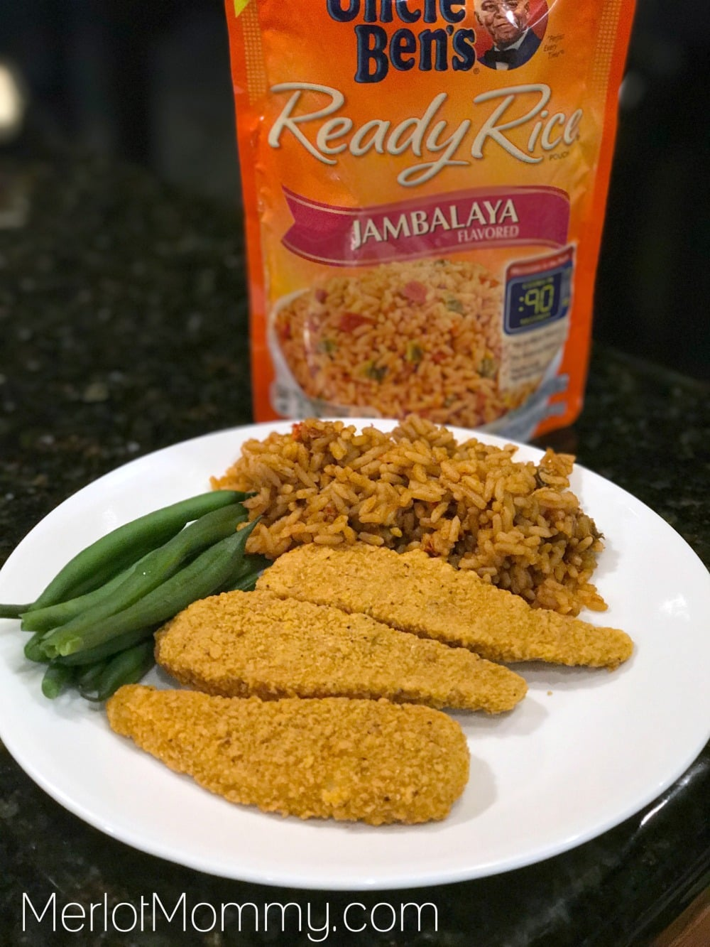 Cooking with Kids and Uncle Bens