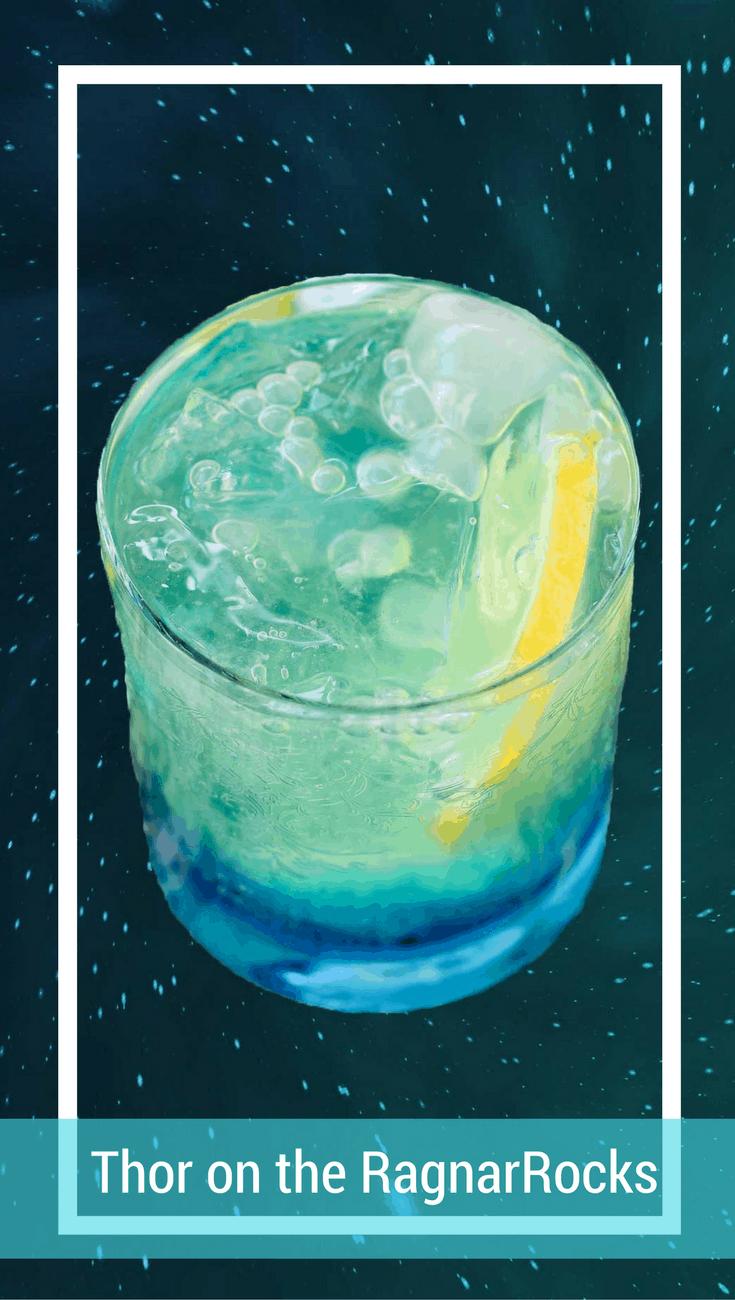 Thor on the RagnarRocks Cocktail